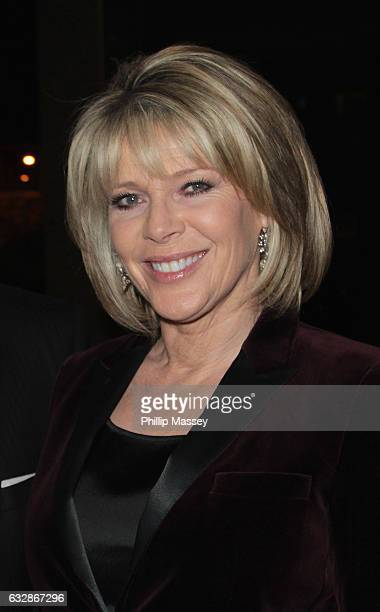 Ruth Langsford appears on the Late Late Show on January 27 2017 in Dublin Ireland