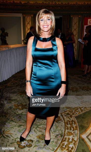 Ruth Langsford arrives at the TV Quick TV Choice Awards Held at the Dorchester Hotel on September 8 2008 in London England