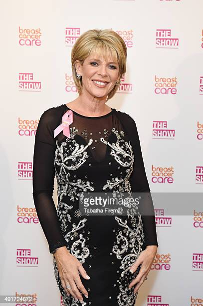 Ruth Langsford attends Breast Cancer Care's London fashion show at Grosvenor House Hotel to launch Breast Cancer Awareness Month on October 7 2015 in...