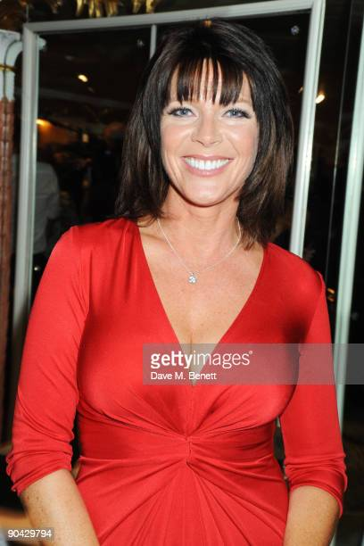 Ruth Langsford attends the Champagne Reception at the TV Quick TV Choice Awards at The Dorchester on September 7 2009 in London England