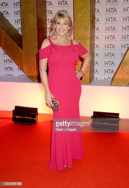 Ruth Langsford attends the National Television Awards 2020 at The O2 Arena on January 28, 2020 in London, England.