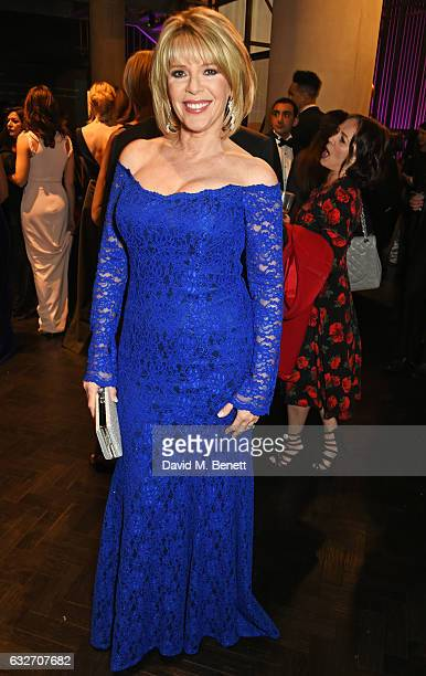 Ruth Langsford attends the National Television Awards cocktail reception at The O2 Arena on January 25 2017 in London England
