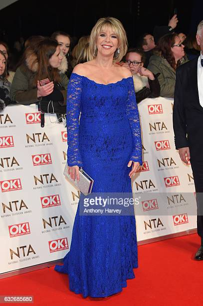 Ruth Langsford attends the National Television Awards on January 25 2017 in London United Kingdom