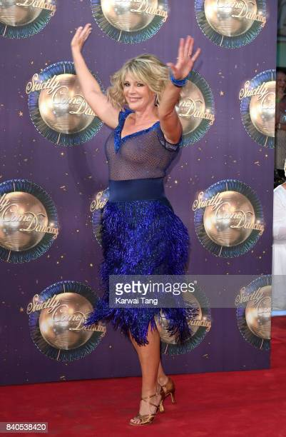 Ruth Langsford attends the 'Strictly Come Dancing 2017' red carpet launch at Broadcasting House on August 28 2017 in London England