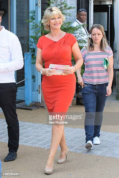 Ruth Langsford sighted at ITV Studios on July 25 2012 in London England