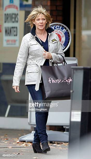 Ruth Langsford sighting on October 17 2015 in Guildford United Kingdom