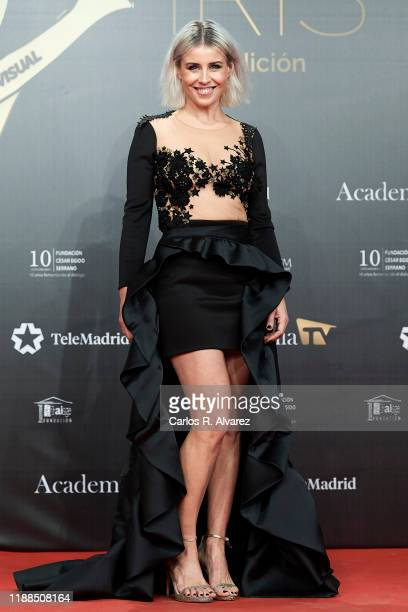Ruth Llopis attends 'Iris Academia de Television' awards at Nuevo Teatro Alcala on November 18 2019 in Madrid Spain