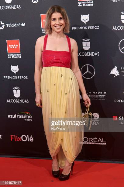 Ruth Llopis attends the 'FEROZ' awards 2020 Red Carpet photocall at Teatro Auditorio Ciudad de Alcobendas in Madrid Spain on Jan 16 2020