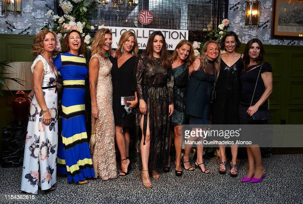 Ruth Lorenzo and guests attend the 'NH Collection Valencia Colon Hotel inauguration at NH Collection Valencia Colon Hotel on June 06, 2019 in...