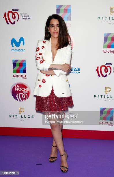 Ruth Lorenzo attends 'La Noche De Cadena 100' charity concert at WiZink Center on March 24, 2018 in Madrid, Spain.