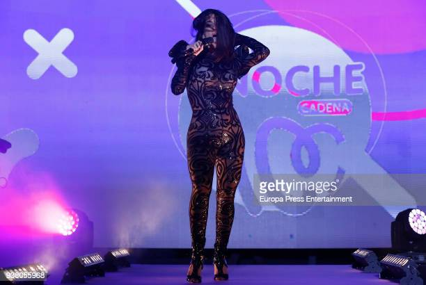 Ruth Lorenzo attends 'La Noche De Cadena 100' charity concert at WiZink Center on March 24 2018 in Madrid Spain