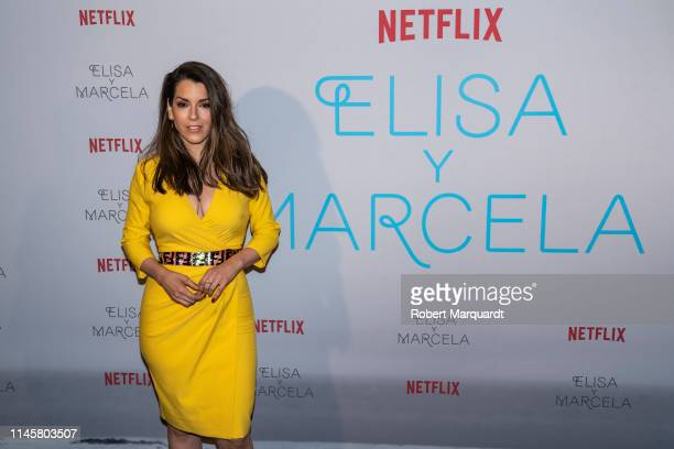 Ruth Lorenzo attends the 'Elisa Y Marcela' film by Netflix at a special screening at Verdi Cinema on May 23, 2019 in Barcelona, Spain.
