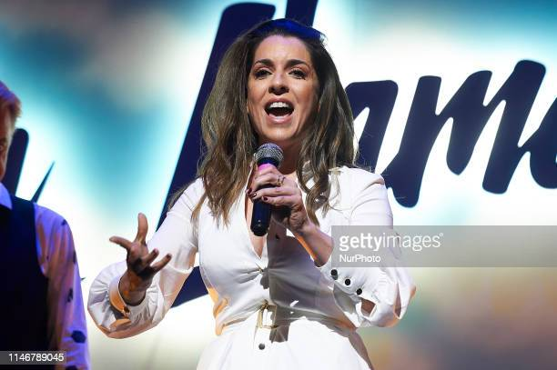 Ruth Lorenzo during presentation of the new signings of theater play 'La Llamada' at Teatro Lara on May 28, 2019 in Madrid, Spain.