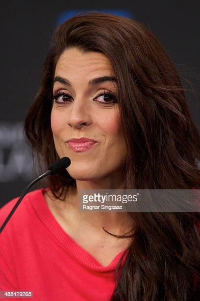 Ruth Lorenzo of Spain attends a photocall for the Eurovision Song Contest 2014 on May 6 2014 in Copenhagen Denmark