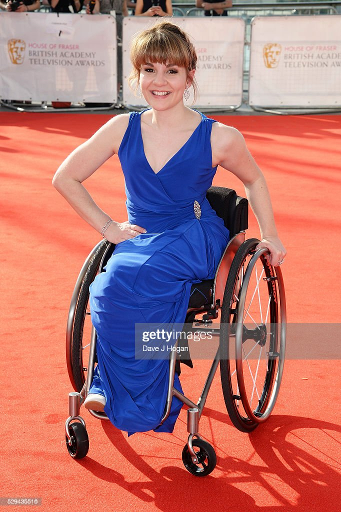 Ruth Madeley attends the House Of Fraser British Academy Television Awards 2016 at the Royal Festival Hall on May 8, 2016 in London, England.