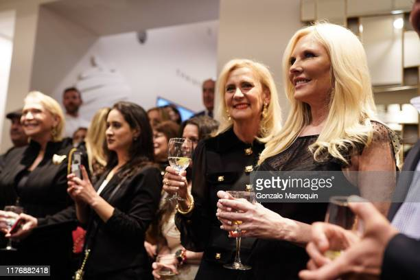Ruth Miller and Colleen Rein attend SohoMuse Launch at Christopher Guy New York on October 17 2019 in New York City
