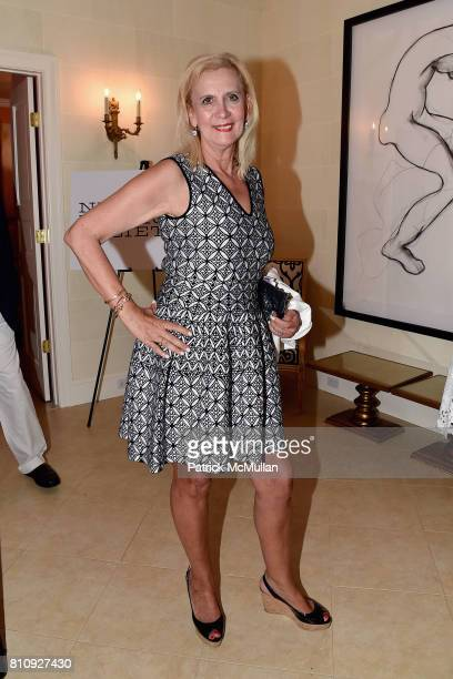 Ruth Miller attends Katrina and Don Peebles Host NY Mission Society Summer Cocktails at Private Residence on July 7 2017 in Bridgehampton New York