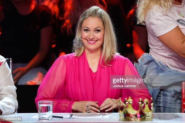 Ruth Moschner at the The Masked Singer finals at Coloneum on August 01 2019 in Cologne Germany