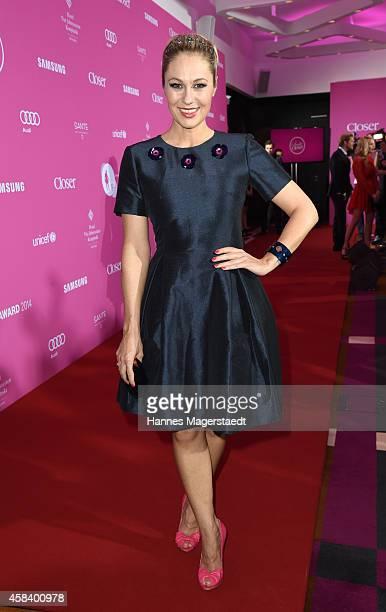 Ruth Moschner attends the 'CLOSER Magazin Hosts SMILE Award 2014' at Hotel Vier Jahreszeiten on November 4 2014 in Munich Germany