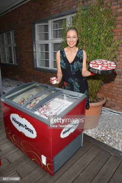 Ruth Moschner attends the Gala Fashion Brunch at Ellington Hotel on July 11 2014 in Berlin Germany