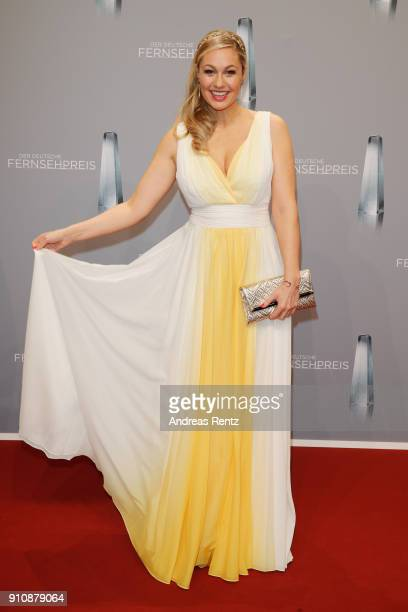 Ruth Moschner attends the German Television Award at Palladium on January 26 2018 in Cologne Germany