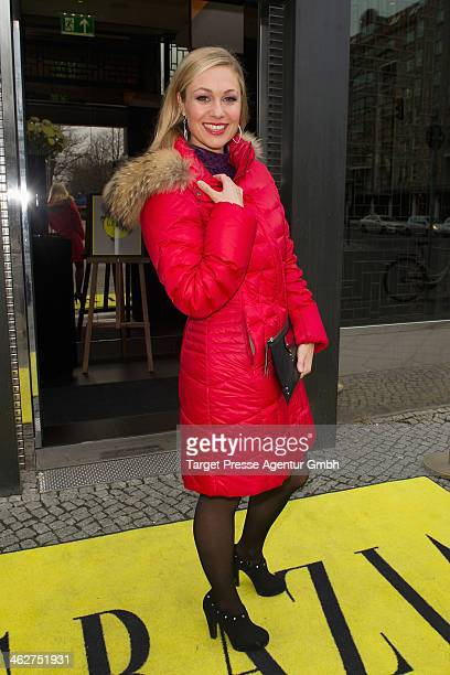 Ruth Moschner attends the Grazia Pop Up during MercedesBenz Fashion Week Autumn/Winter 2014/15 at Sra Bua Restaurant on January 15 2014 in Berlin...