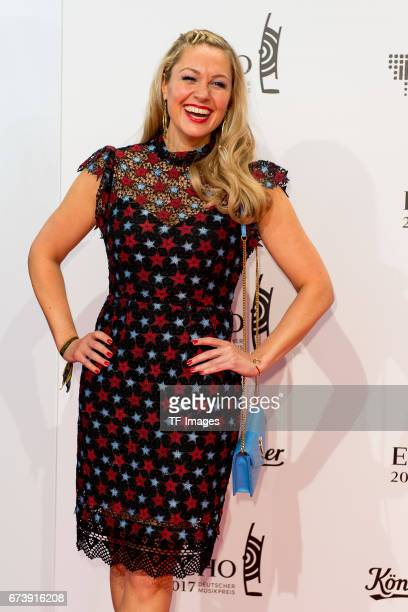 Ruth Moschner on the red carpet during the ECHO German Music Award in Berlin Germany on April 06 2017