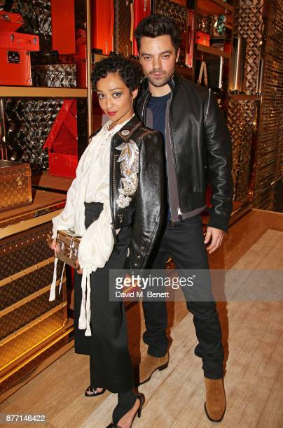 Ruth Negga and Dominic Cooper attend Louis Vuittons Celebration of GingerNutz in Vogue's December Issue on November 21 2017 in London England