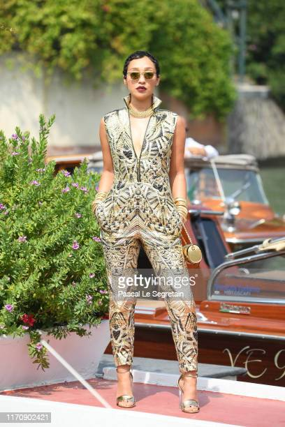 Ruth Negga arrives at the 76th Venice Film Festival on August 29 2019 in Venice Italy