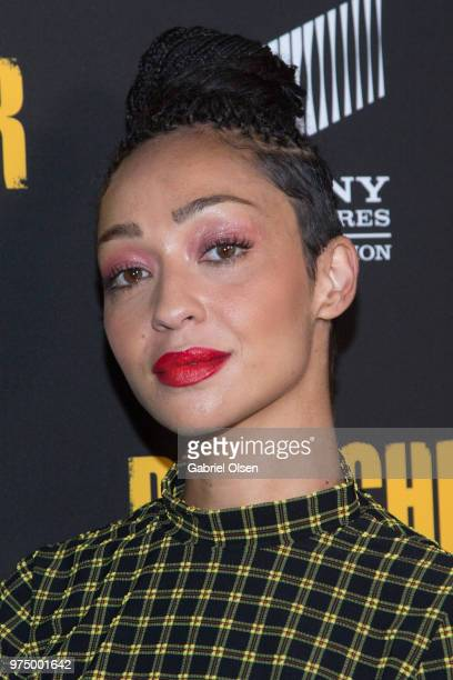 Ruth Negga arrives for AMC's 'Preacher' season 3 premiere party at The Hearth and Hound on June 14 2018 in Los Angeles California