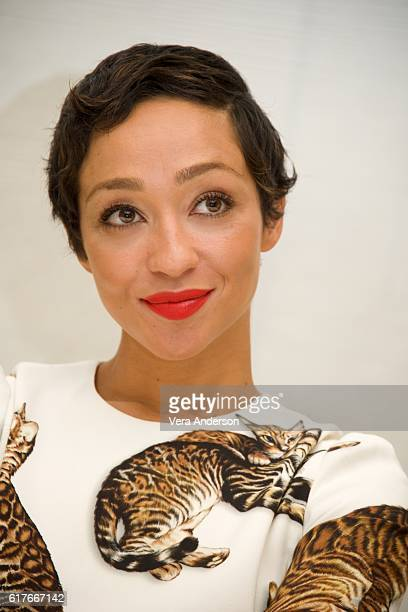Ruth Negga at the 'Loving' Press Conference at the Four Seasons Hotel on October 22 2016 in Beverly Hills California