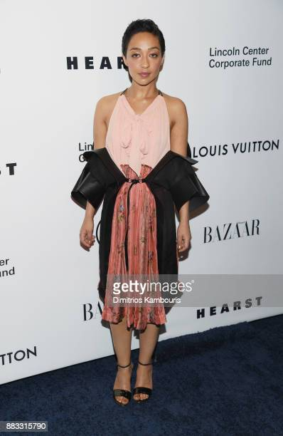 Ruth Negga attends An Evening Honoring Louis Vuitton and Nicolas Ghesquiere at Alice Tully Hall at Lincoln Center on November 30 2017 in New York City