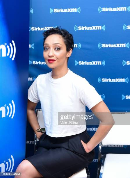 Ruth Negga attends SiriusXM's Entertainment Weekly Radio Broadcasts Live From Comic Con in San Diego at Hard Rock Hotel San Diego on July 21 2018 in...