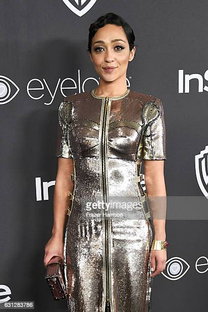 Ruth Negga attends the 18th Annual PostGolden Globes Party hosted by Warner Bros Pictures and InStyle at The Beverly Hilton Hotel on January 8 2017...