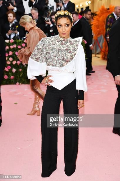 Ruth Negga attends The 2019 Met Gala Celebrating Camp Notes on Fashion at Metropolitan Museum of Art on May 06 2019 in New York City