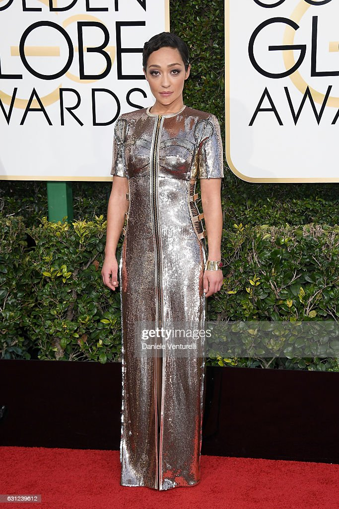 Ruth Negga attends the 74th Annual Golden Globe Awards at The Beverly Hilton Hotel on January 8, 2017 in Beverly Hills, California.