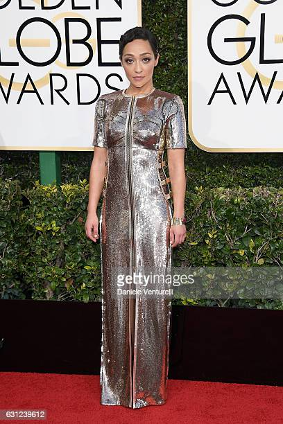 Ruth Negga attends the 74th Annual Golden Globe Awards at The Beverly Hilton Hotel on January 8 2017 in Beverly Hills California