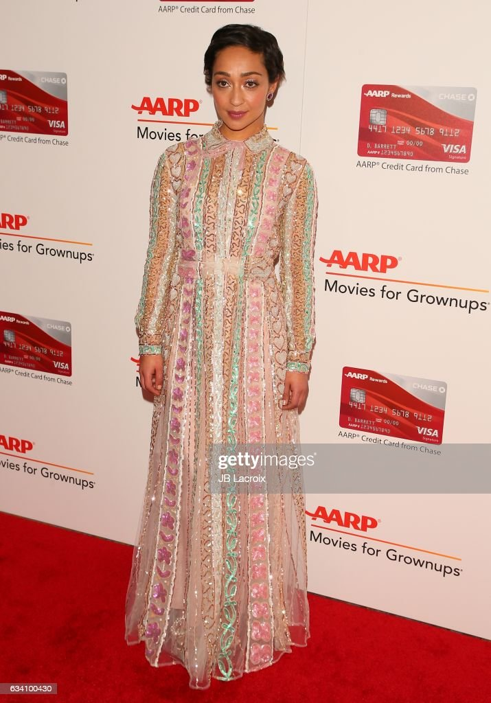 Ruth Negga attends the AARP's 16th Annual Movies For Grownups Awards on February 6, 2017 in Beverly Hills, California.