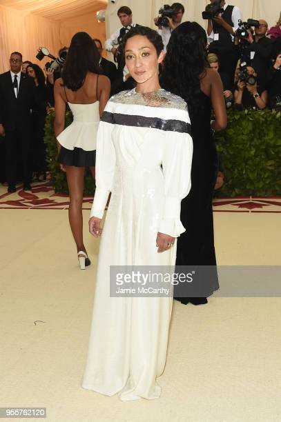Ruth Negga attends the Heavenly Bodies Fashion The Catholic Imagination Costume Institute Gala at The Metropolitan Museum of Art on May 7 2018 in New...