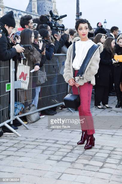 Ruth Negga attends the Louis Vuitton show as part of the Paris Fashion Week Womenswear Fall/Winter 2018/2019 on March 6 2018 in Paris France