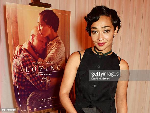 Ruth Negga attends the Loving World Premiere after party hosted by Swarovski at Nikki Beach on May 16 2016 in Cannes France
