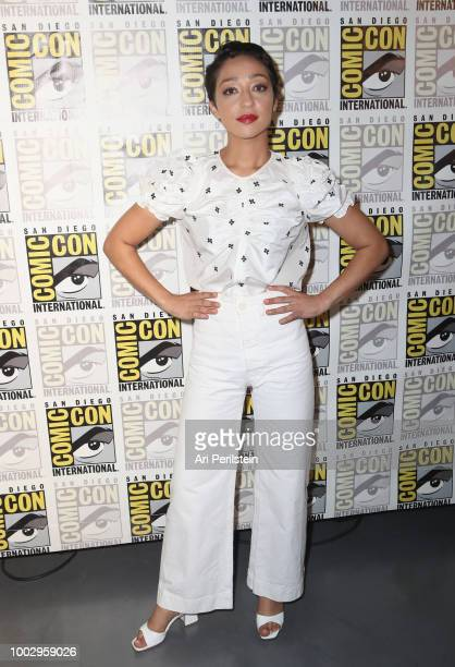 Ruth Negga attends the 'Preacher' autograph signing and panel with AMC during ComicCon International 2018 at San Diego Convention Center on July 20...