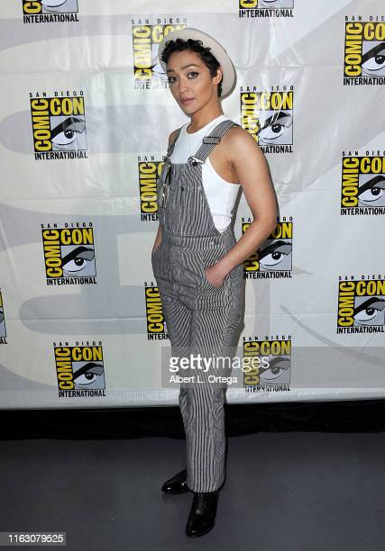 Ruth Negga attends the Preacher Panel during 2019 ComicCon International at San Diego Convention Center on July 19 2019 in San Diego California