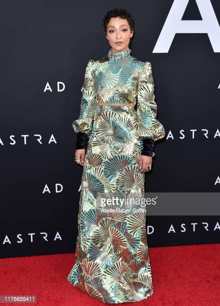 Ruth Negga attends the Premiere of 20th Century Fox's Ad Astra at The Cinerama Dome on September 18 2019 in Los Angeles California