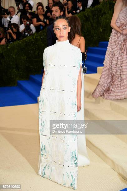 Ruth Negga attends the Rei Kawakubo/Comme des Garcons Art Of The InBetween Costume Institute Gala at Metropolitan Museum of Art on May 1 2017 in New...