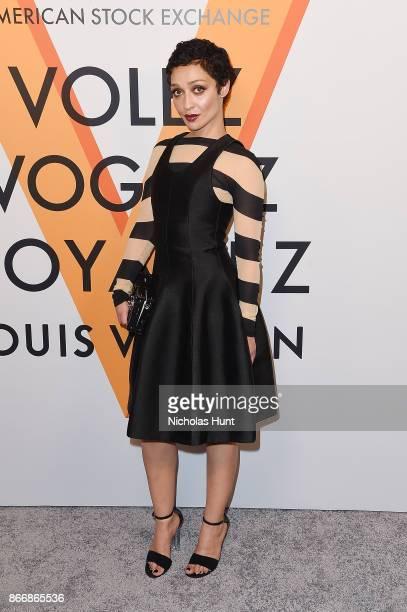 Ruth Negga attends the Volez Vogez Voyagez Louis Vuitton Exhibition Opening on October 26 2017 in New York City