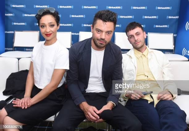 Ruth Negga Dominic Cooper and Joseph Gilgun SiriusXM's Entertainment Weekly Radio Broadcasts Live From Comic Con in San Diego at Hard Rock Hotel San...