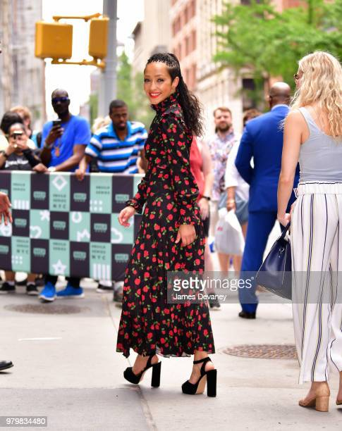 Ruth Negga leaves the Build Series at Build Studio on June 20 2018 in New York City