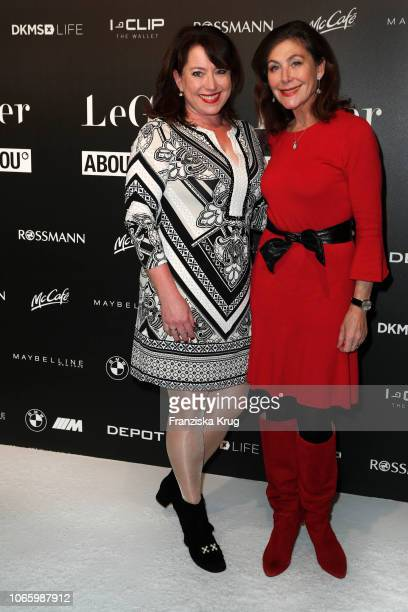 Ruth Neri and Alexandra von Rehlingen during the Lena's Christmas Dinner Party at Hauser Alm on November 27 2018 in Hamburg Germany