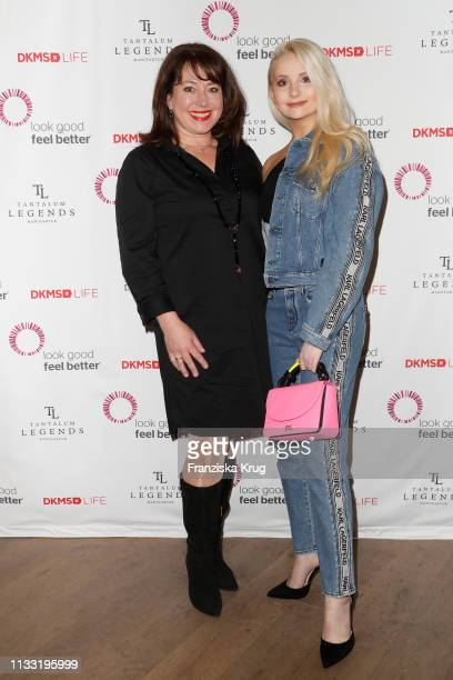 Ruth Neri and Anna Hiltrop during the DKMS Life charity ladies lunch on March 27, 2019 in Hamburg, Germany.